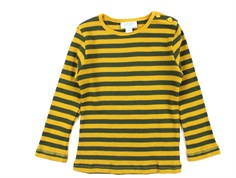 Noa Noa Miniature t-shirt rib art yellow
